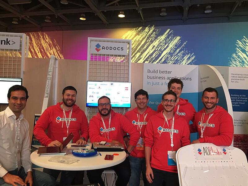 AODocs at Google Cloud Next 2018