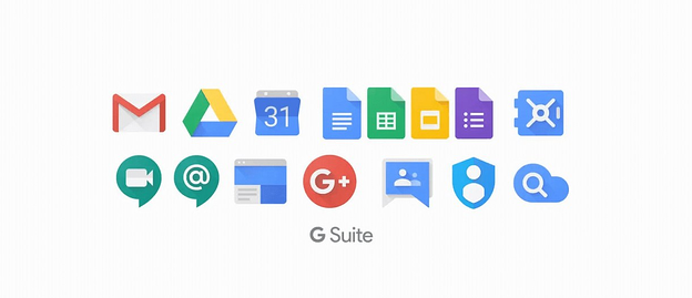 G Suite icons