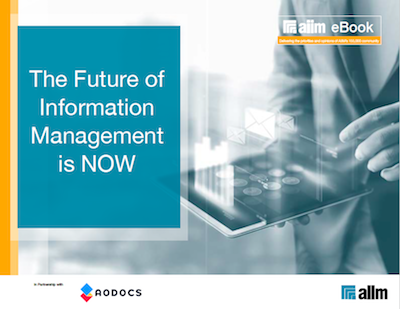 The Future of Information Management is NOW Cover