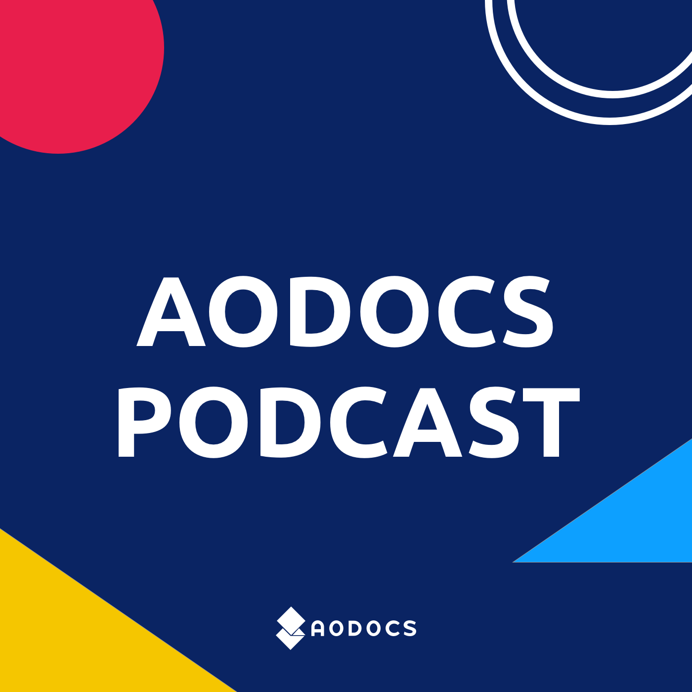 AODocs Podcast Logo