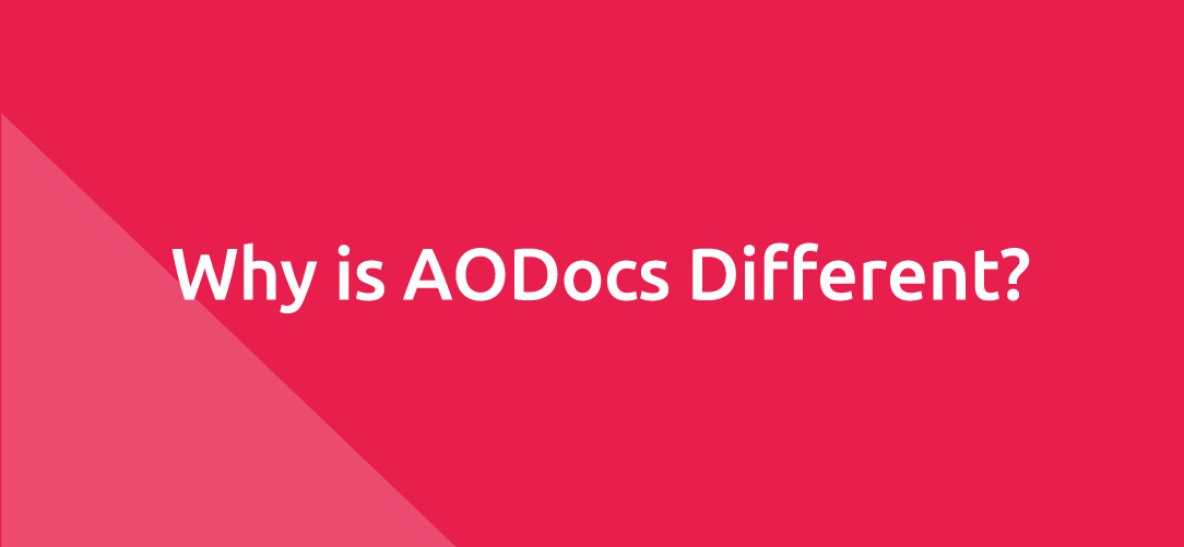 Why is AODocs Different?