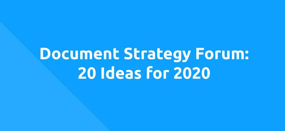 DSF 20 ideas